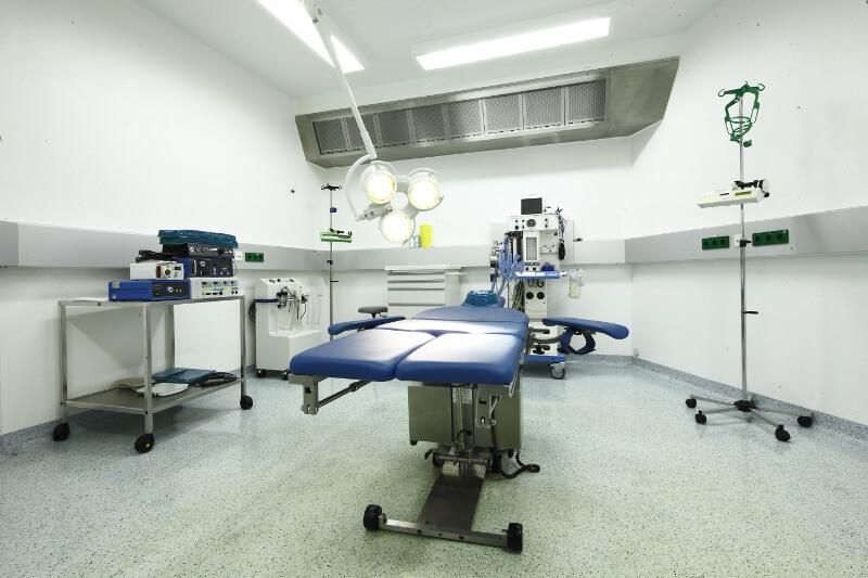Übersicht des Op-Saals der Plastische Chirurgie in der Beethoven 5.13 Klinik in Köln