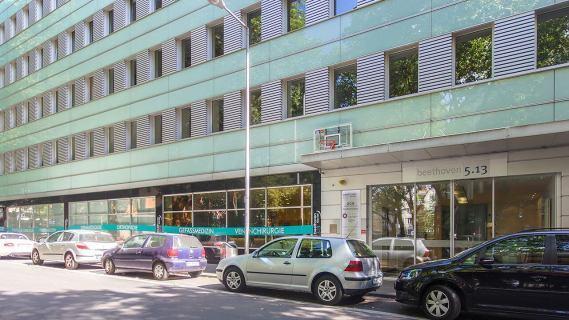 Beethoven Klinik Strassenansicht