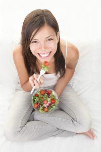 Gesichtspflege ab 40 Ernährung