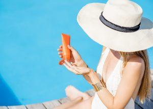 Sonnenschutz der Haut vor UV-Strahlung