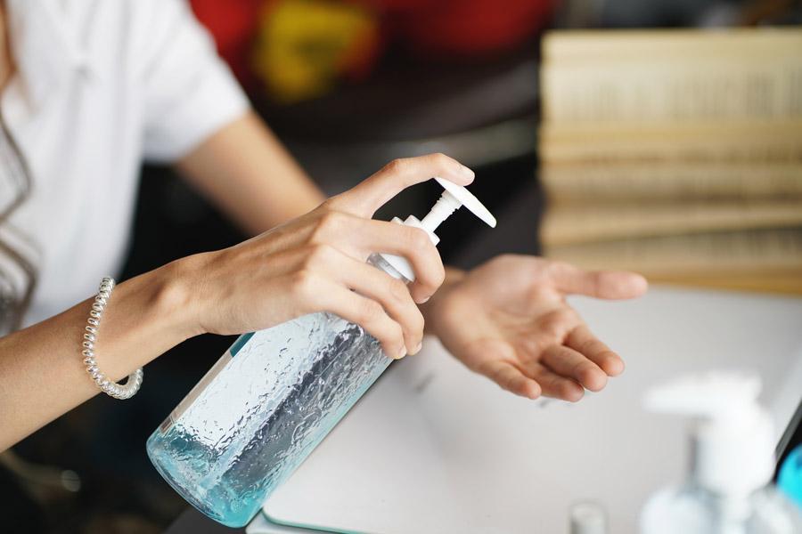 Hygieneregeln während der Corona Pandemie