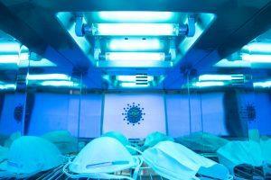Desinfektion mit UVC Licht