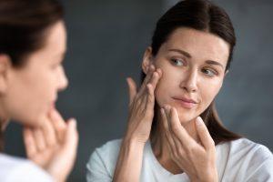 Unreine Haut und Hautausschläge wegen Stress