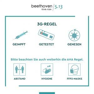 3G-Regel in der Beethoven Klinik